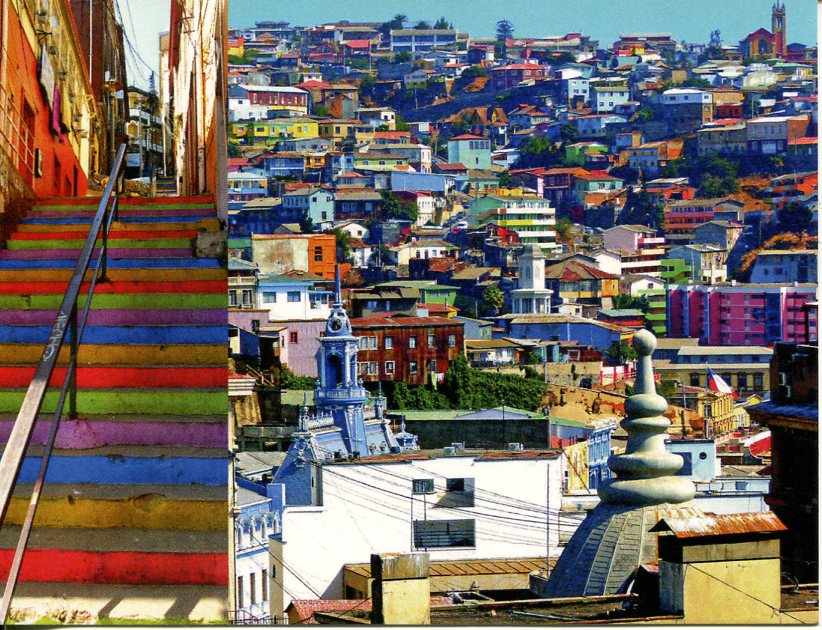 Chile UNESCO - Historic Quarter of the Seaport City Valparaiso